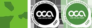 ISO 9001 y 14001, comprometidos con el Medio Ambiente
